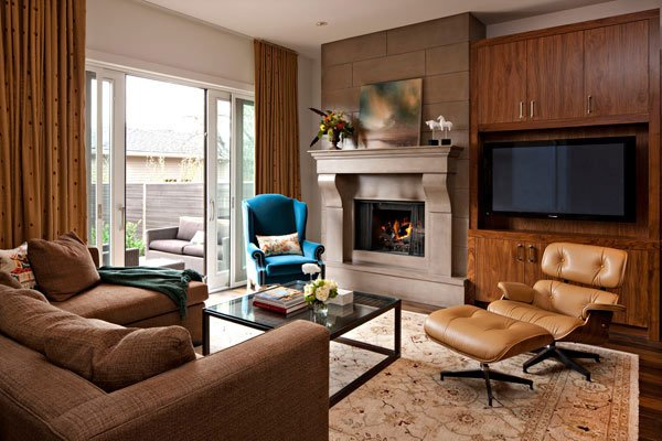 Фотография: Гостиная в стиле Современный, Декор интерьера, Мебель и свет, Кресло – фото на INMYROOM