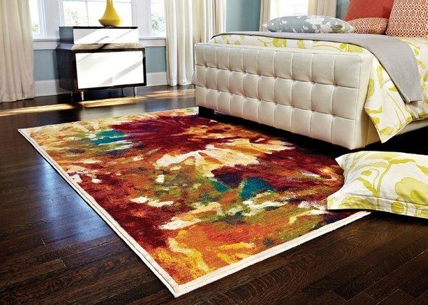 Фотография: Спальня в стиле Современный, Декор интерьера, Цвет в интерьере, Индустрия, Новости, Маркет, Ковер – фото на INMYROOM
