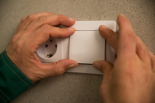 Фотография:  в стиле , Ремонт на практике, Schneider Electric – фото на INMYROOM