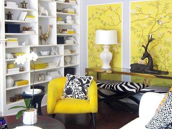 Фотография: Гостиная в стиле Прованс и Кантри, Классический, Современный, Декор интерьера, Дизайн интерьера, Цвет в интерьере – фото на INMYROOM