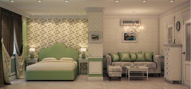 Фотография: Спальня в стиле Прованс и Кантри, Марокко + Прованс, интерьерный стиль прованс, прованс в интерьере – фото на INMYROOM