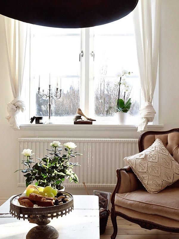 Фотография: Гостиная в стиле Классический, Скандинавский, Современный, Декор интерьера, Квартира, Дома и квартиры, Прованс, Шебби-шик – фото на INMYROOM