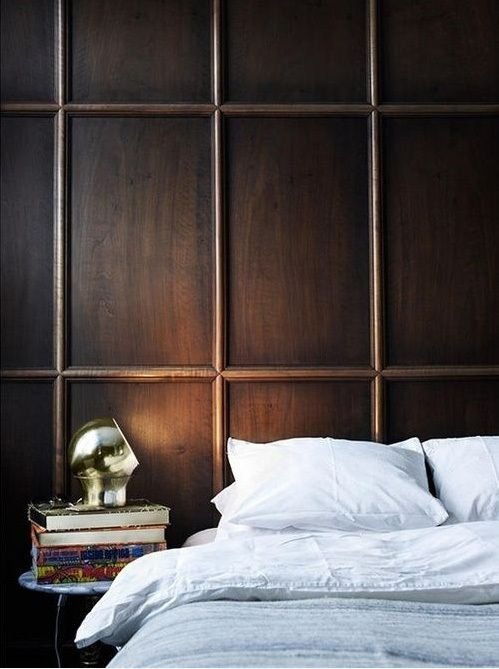 Фотография: Спальня в стиле Скандинавский, Декор интерьера, Декор дома, Стеновые панели – фото на InMyRoom.ru