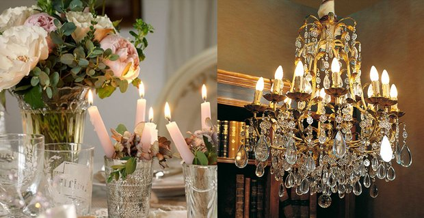 Фотография: Прочее в стиле , Декор интерьера, Мебель и свет, Праздник, Сервировка стола, Люстра, Interno – фото на InMyRoom.ru