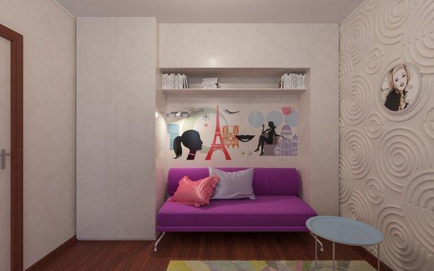 Фотография:  в стиле Современный, Квартира, Дома и квартиры – фото на INMYROOM