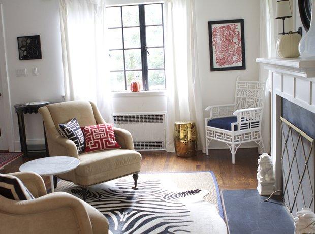 Фотография: Гостиная в стиле Современный, Декор интерьера, Текстиль, Ковер, Пол – фото на INMYROOM