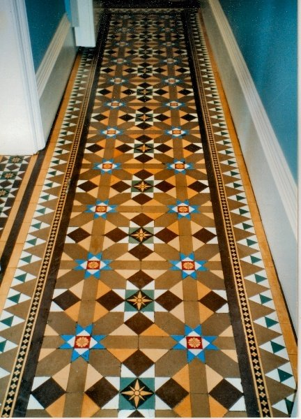 Фотография:  в стиле , Ремонт на практике, метлахскай плитка в интерьере – фото на INMYROOM