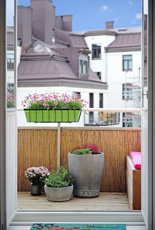 Фотография: Балкон, Терраса в стиле Скандинавский, Современный, Интерьер комнат – фото на InMyRoom.ru
