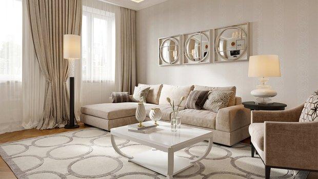 Фотография: Гостиная в стиле Классический, Современный, Советы, Whirpool – фото на INMYROOM