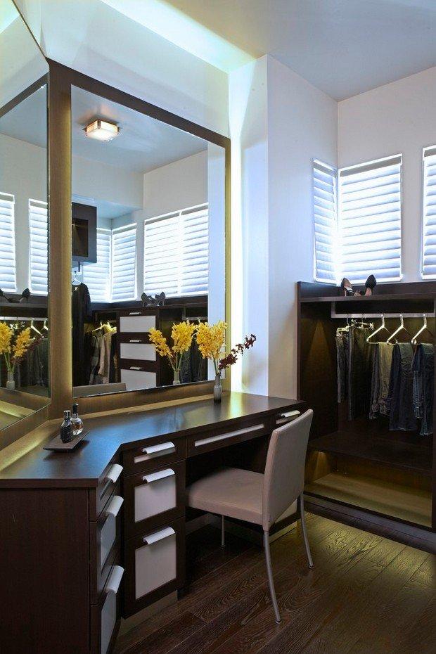 Фотография:  в стиле Современный, Гардеробная, Хранение, Интерьер комнат – фото на INMYROOM