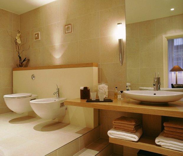 Фотография: Ванная в стиле Эко, Квартира, Прочее, Советы, Системы хранения, Порядок, Организация пространства, Хранение мелочей, Хозяйке на заметку – фото на INMYROOM