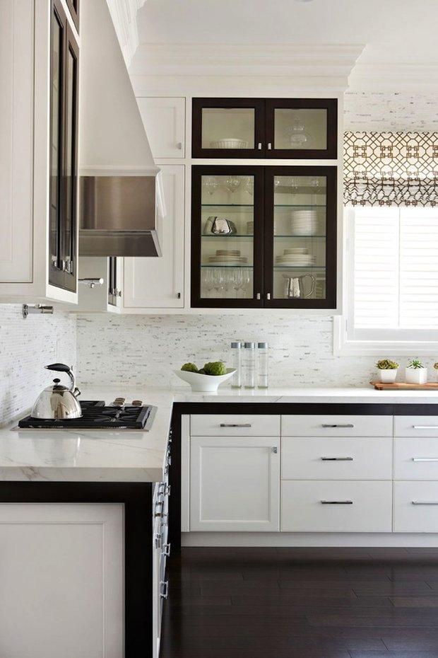 Фотография: Кухня и столовая в стиле Скандинавский, Интерьер комнат, Цвет в интерьере, Белый – фото на INMYROOM