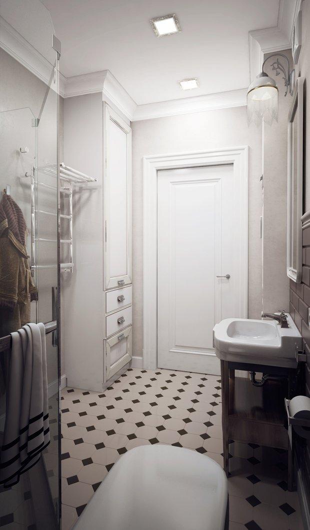Фотография: Ванная в стиле Классический, Советы, Ремонт на практике, Мария Лазич, энциклопедия_сантехника – фото на INMYROOM