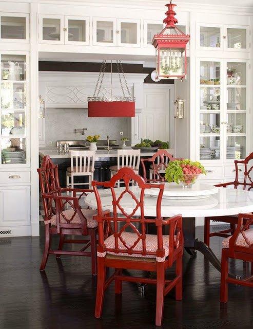 Фотография: Кухня и столовая в стиле Прованс и Кантри, Восточный, Декор интерьера, Дизайн интерьера, Цвет в интерьере – фото на INMYROOM