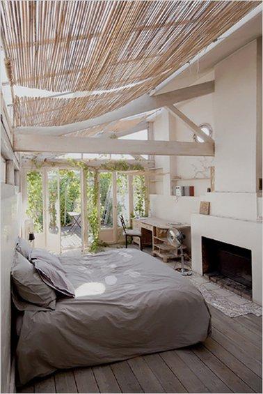 Фотография: Спальня в стиле Прованс и Кантри, Дом, Дома и квартиры, Лестница – фото на INMYROOM