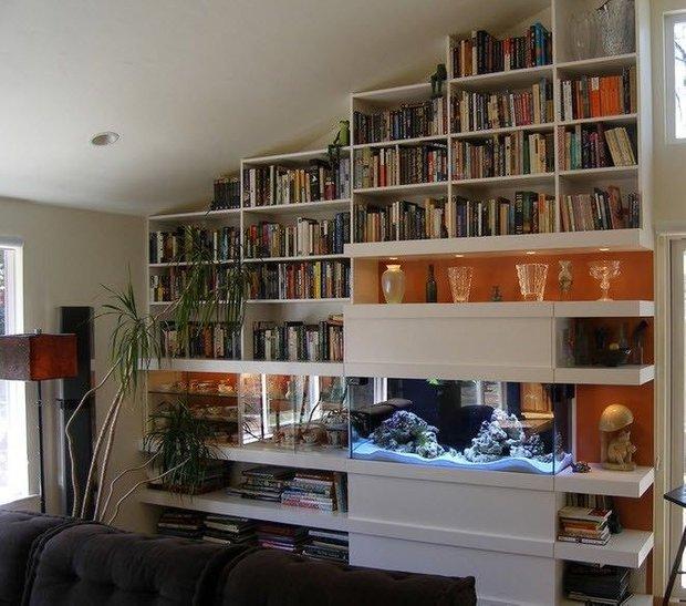 Фотография: Прочее в стиле , Хранение, Стиль жизни, Советы, Библиотека – фото на INMYROOM