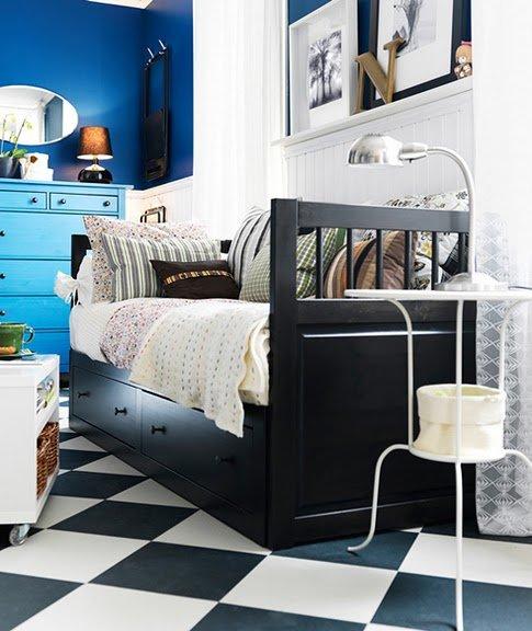 Фотография: Гостиная в стиле Прованс и Кантри, Спальня, Интерьер комнат – фото на INMYROOM