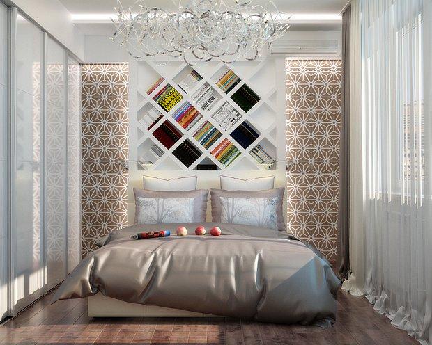 Фотография: Спальня в стиле Современный, Эклектика, Квартира, Аксессуары, Декор, Мебель и свет, Советы – фото на INMYROOM
