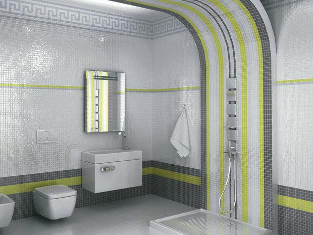 Фотография: Ванная в стиле Современный, Кухня и столовая, Интерьер комнат, Бассейн, Кухонный фартук – фото на INMYROOM