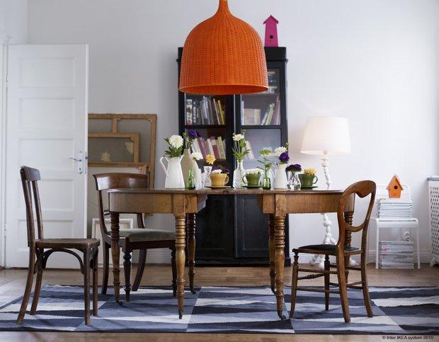 Фотография: Кухня и столовая в стиле Прованс и Кантри, Скандинавский, Современный, Декор интерьера, Мебель и свет – фото на INMYROOM