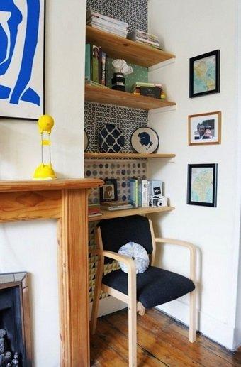 Фотография:  в стиле , Декор интерьера, DIY, Декор, Обои, бюджетный декор, бюджетное обновление интерьера, лайфхаки – фото на INMYROOM