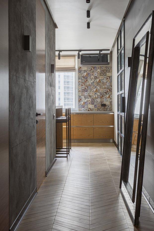 Фотография: Прихожая в стиле Лофт, Гостиная, Спальня, Декор интерьера, Квартира, Студия, 40-60 метров, Мария Полянская – фото на INMYROOM
