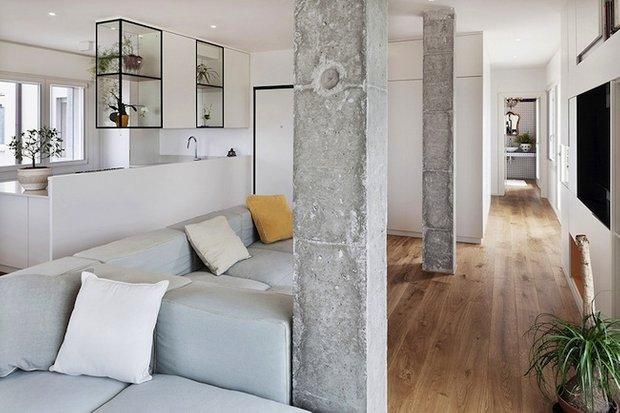 Фотография: Гостиная в стиле Скандинавский, Лофт, Декор интерьера, Декор дома, Индустриальный – фото на InMyRoom.ru