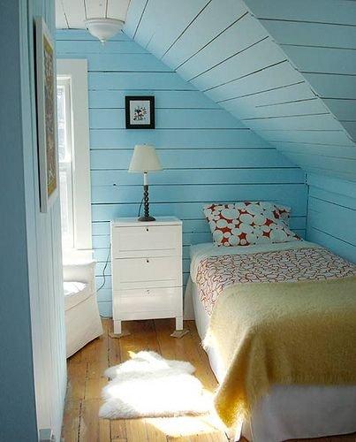 Фотография: Спальня в стиле Прованс и Кантри, Интерьер комнат, Хрущевка – фото на InMyRoom.ru