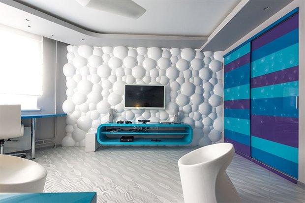 Фотография: Детская в стиле Современный, Спальня, Декор интерьера, Интерьер комнат – фото на INMYROOM