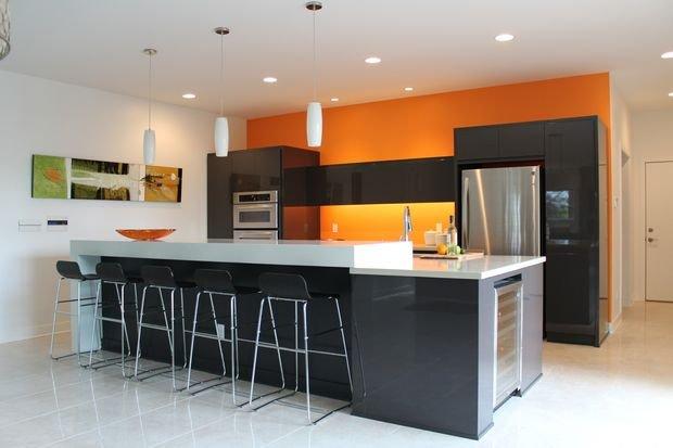 Фотография: Декор в стиле Классический, Кухня и столовая, Декор интерьера, Квартира, Дом, Оранжевый – фото на INMYROOM