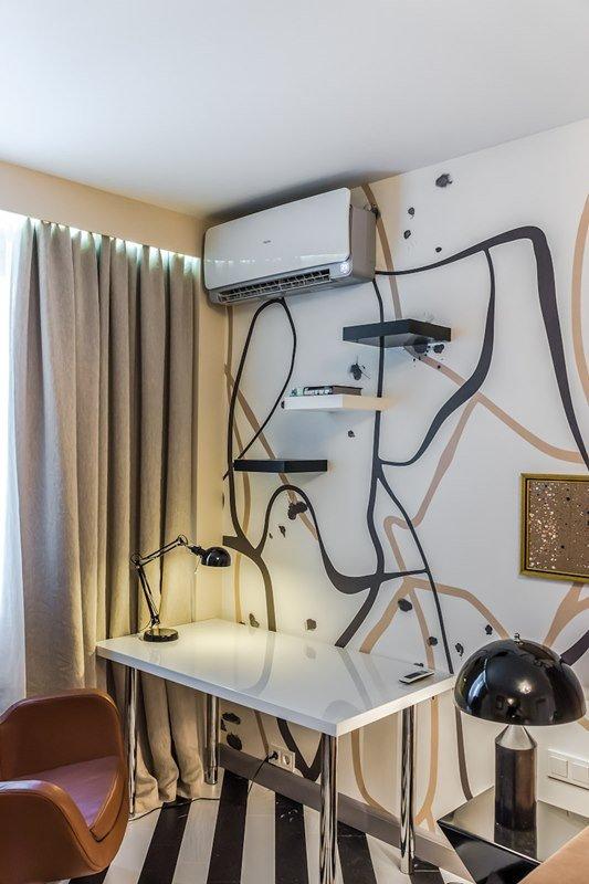 Фотография: Офис в стиле Современный, Декор интерьера, Интерьер комнат, Хрущевка – фото на INMYROOM