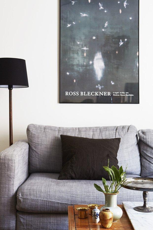 Фотография: Гостиная в стиле Лофт, Эклектика, Скандинавский, Декор интерьера, Малогабаритная квартира, Квартира, Мебель и свет – фото на INMYROOM