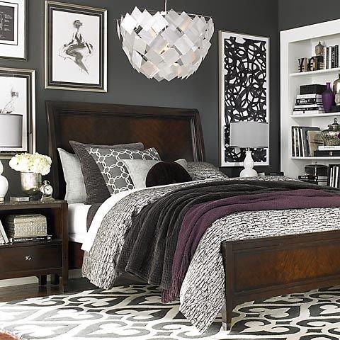Фотография:  в стиле , Спальня, Текстиль – фото на INMYROOM