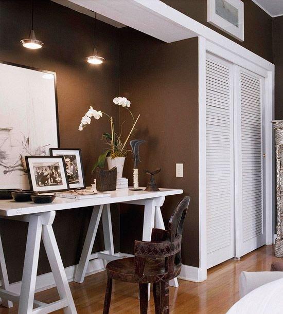 Фотография: Офис в стиле Эклектика, Декор интерьера, Дизайн интерьера, Цвет в интерьере – фото на INMYROOM
