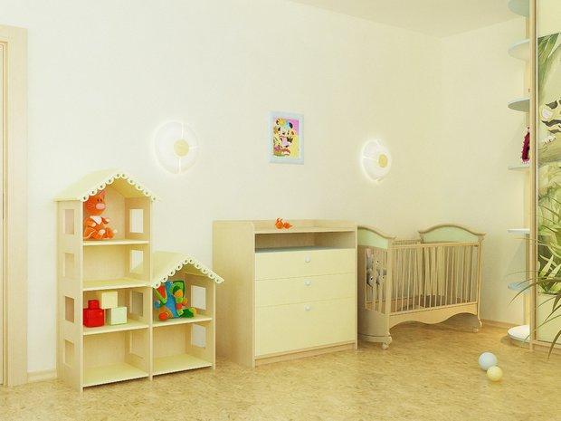 Фотография: Прихожая в стиле Современный, Детская, Интерьер комнат – фото на INMYROOM