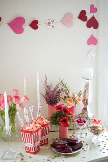 Фотография: Гостиная в стиле Классический, Современный, Декор интерьера, DIY, Праздник, День святого Валентина – фото на INMYROOM