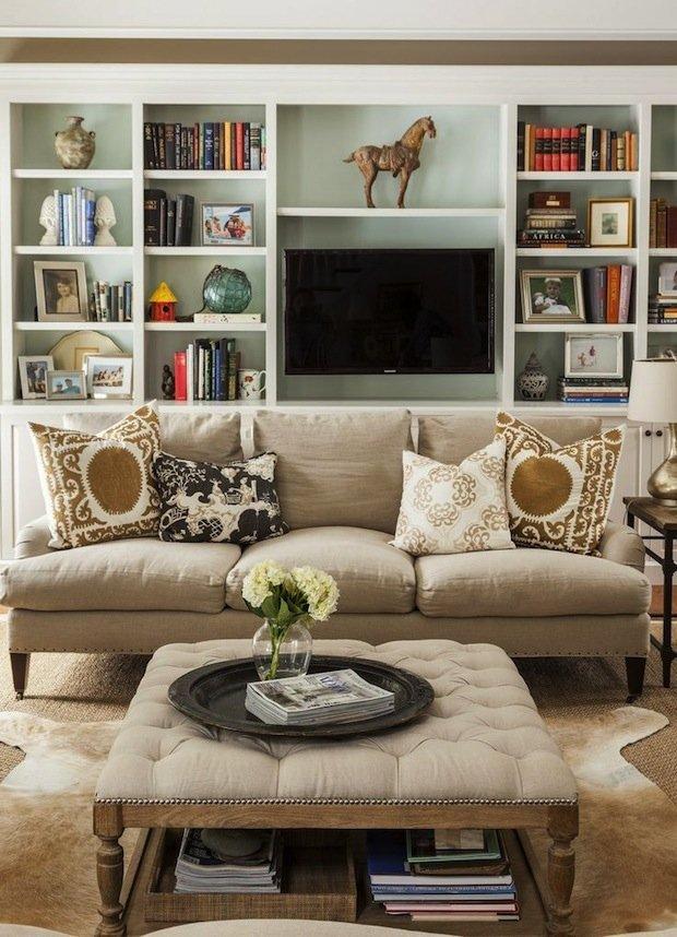 Фотография: Гостиная в стиле Прованс и Кантри, Декор интерьера, Декор дома, Библиотека – фото на INMYROOM