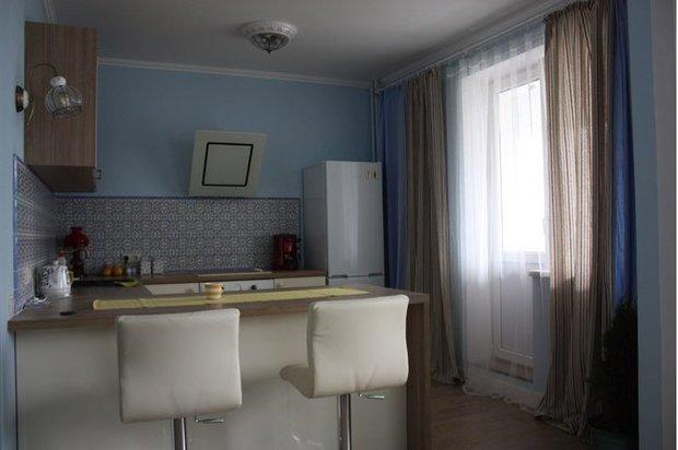 Фотография: Кухня и столовая в стиле Современный, Малогабаритная квартира, Квартира, Дома и квартиры, Мебель-трансформер – фото на INMYROOM