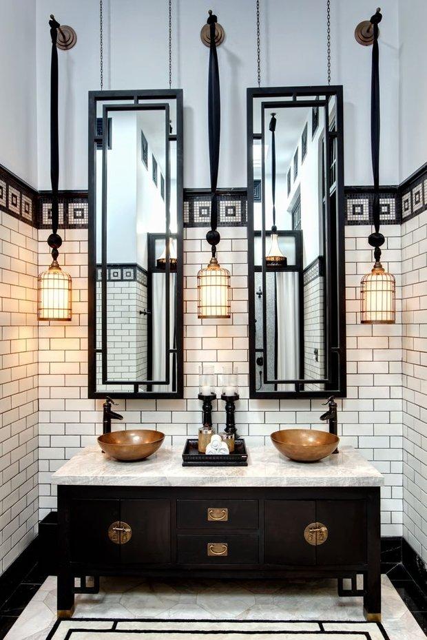 Фотография: Ванная в стиле Восточный, Квартира, Советы, Ремонт на практике, Хрущевка – фото на INMYROOM