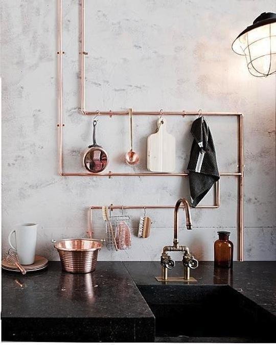 Фотография: Кухня и столовая в стиле Лофт, Стиль жизни, Советы, Международная Школа Дизайна – фото на INMYROOM