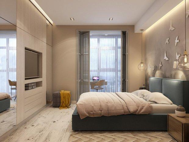 Дизайн: Ирина Кликина, Liberta Interior