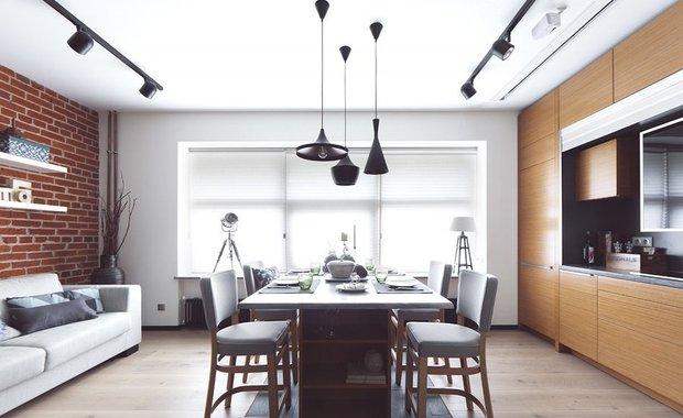 Фотография: Кухня и столовая в стиле Лофт, Квартира, Дома и квартиры, Советы – фото на INMYROOM