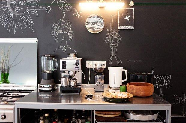 Фотография: Кухня и столовая в стиле Современный, Декор интерьера, Декор, Мебель и свет, Балдахин – фото на INMYROOM