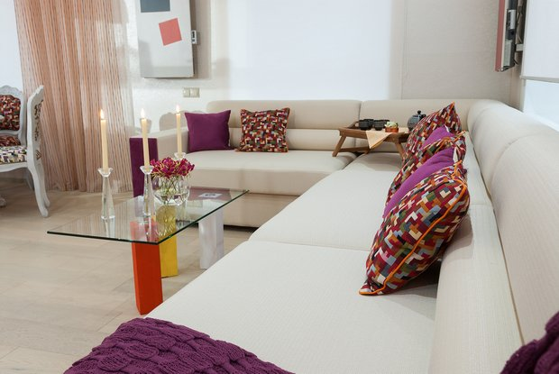 Фотография: Гостиная в стиле Эклектика, Дом, Дома и квартиры – фото на INMYROOM
