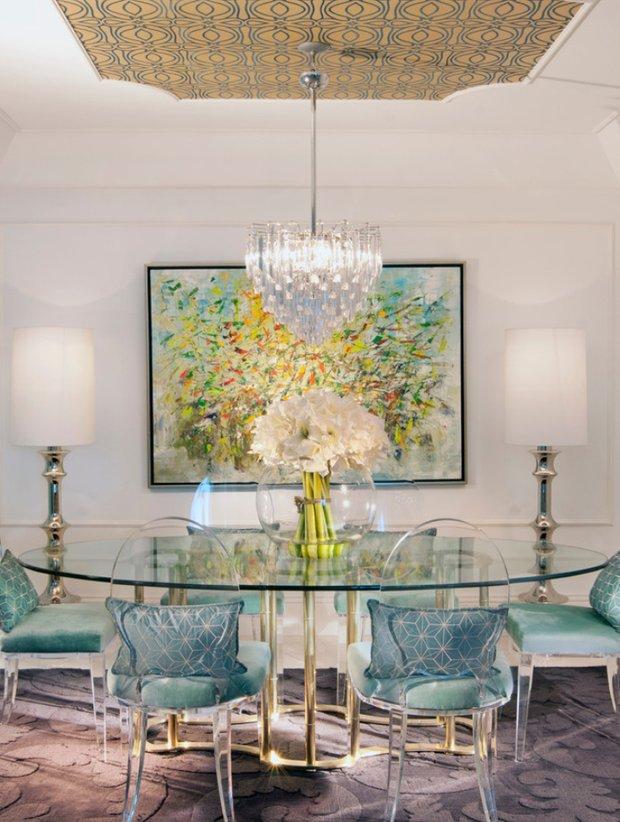 Фотография: Кухня и столовая в стиле Классический, Современный, Декор интерьера, Архитектурные объекты, Потолок – фото на InMyRoom.ru