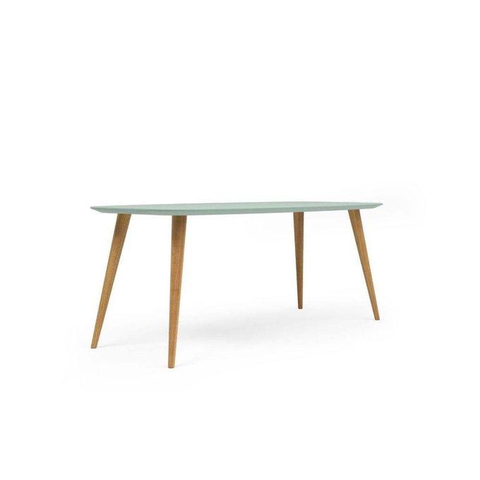 Обеденный стол Portu серо-зеленый