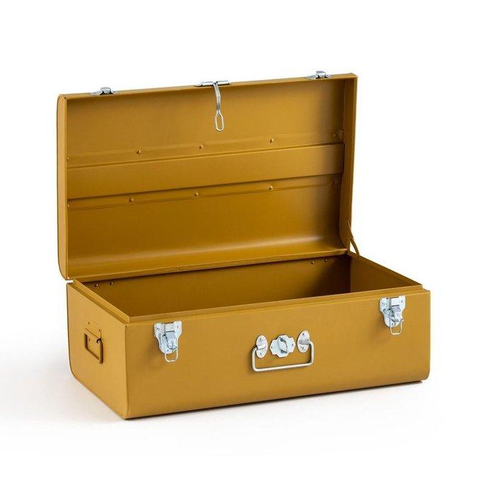 Сундук-чемодан Masa каштанового цвета