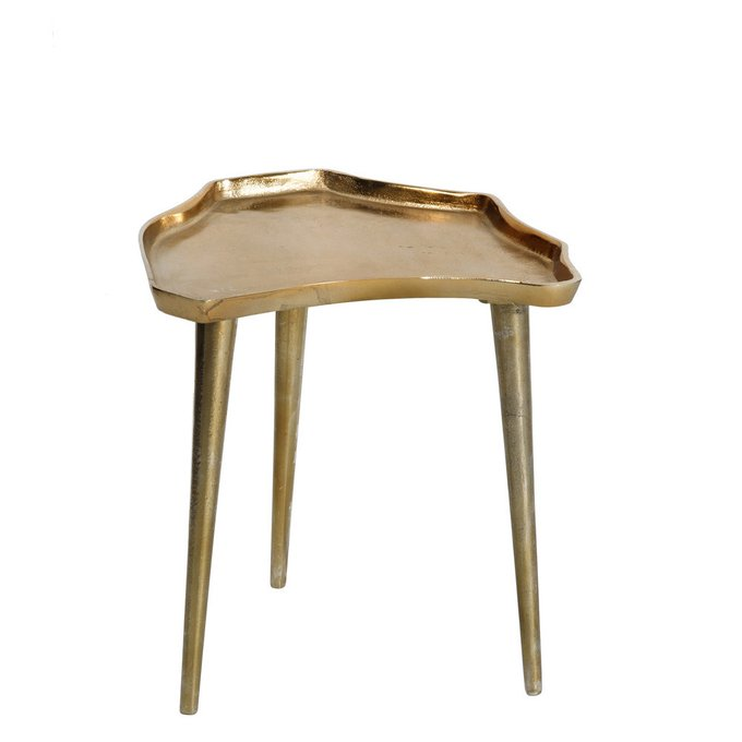 Журнальный стол бронзово-золотого цвета