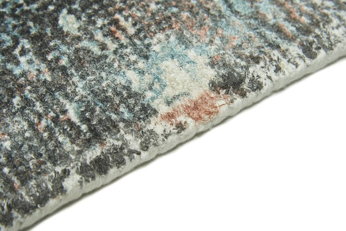 Ковер Sintra tealpeach 200х300 серо-голубого цвета