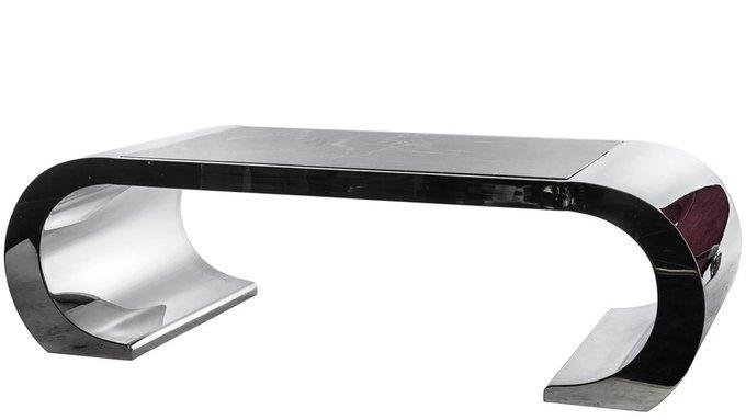 Журнальный стол с мраморной столешницей
